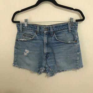 LEVIS orange tag vintage cutoff shorts AP16